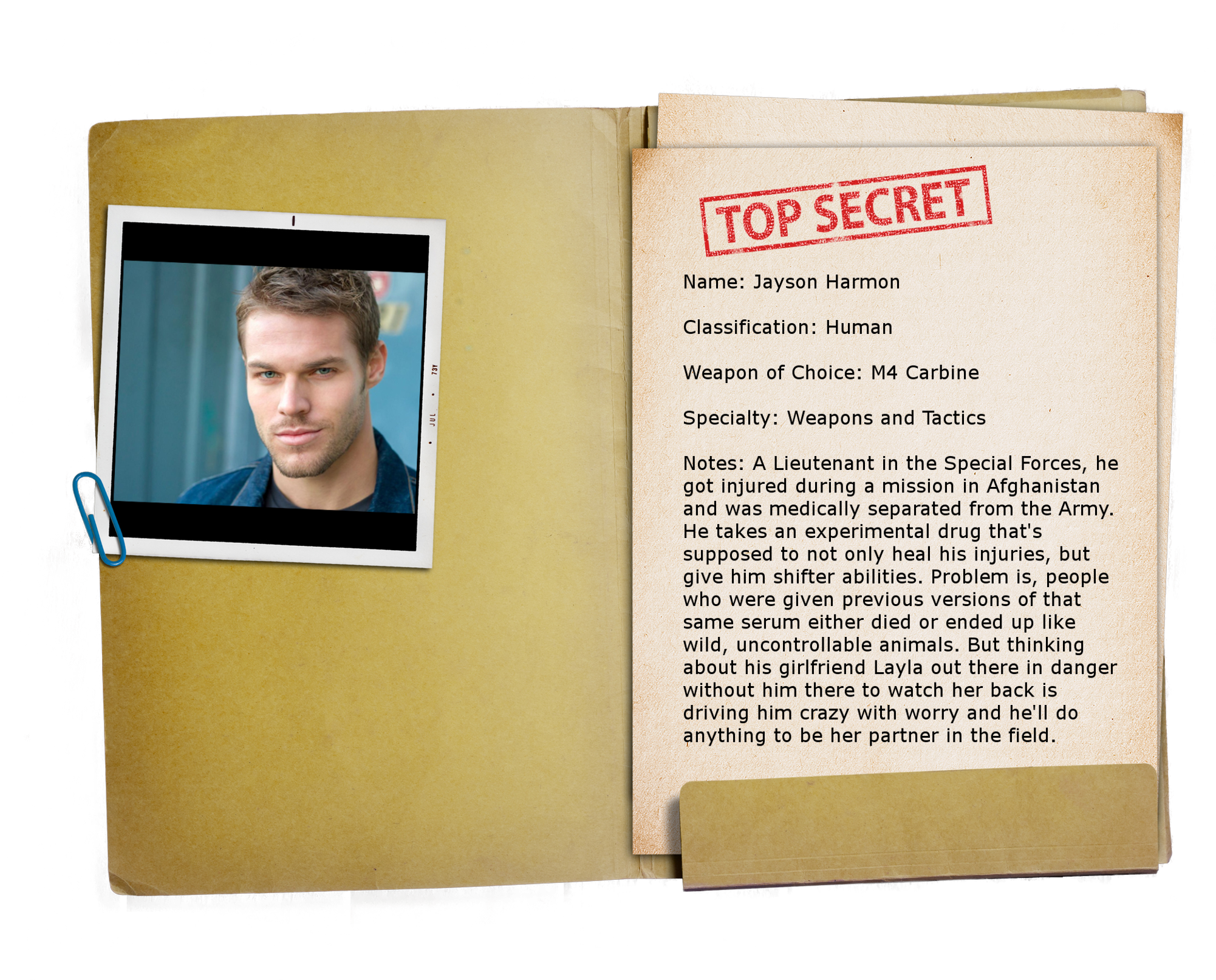 10 – Top Secret Folder TRANSPARENT Jayson
