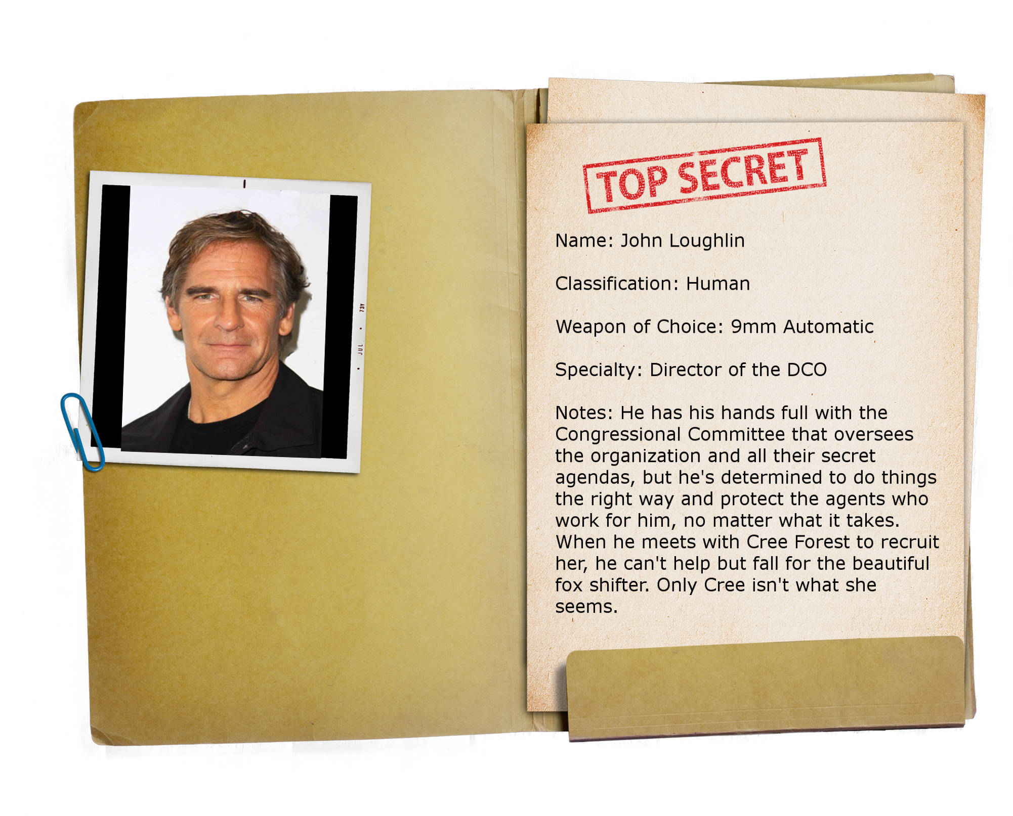 16 – Top Secret Folder TRANSPARENT John