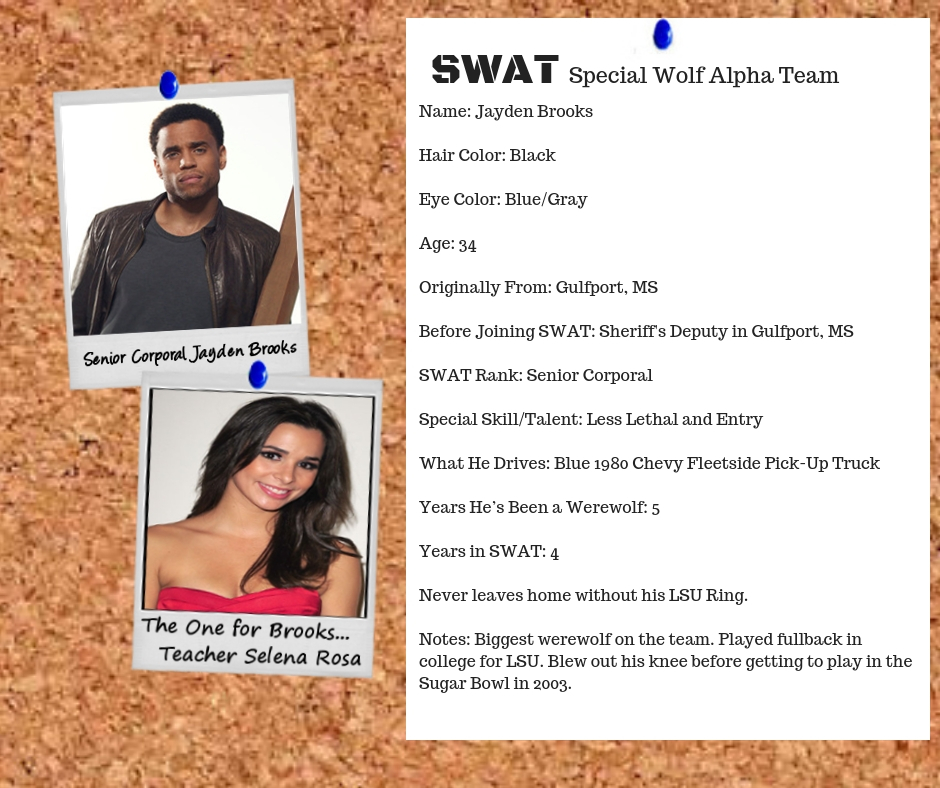 SWAT Brooks and Selena