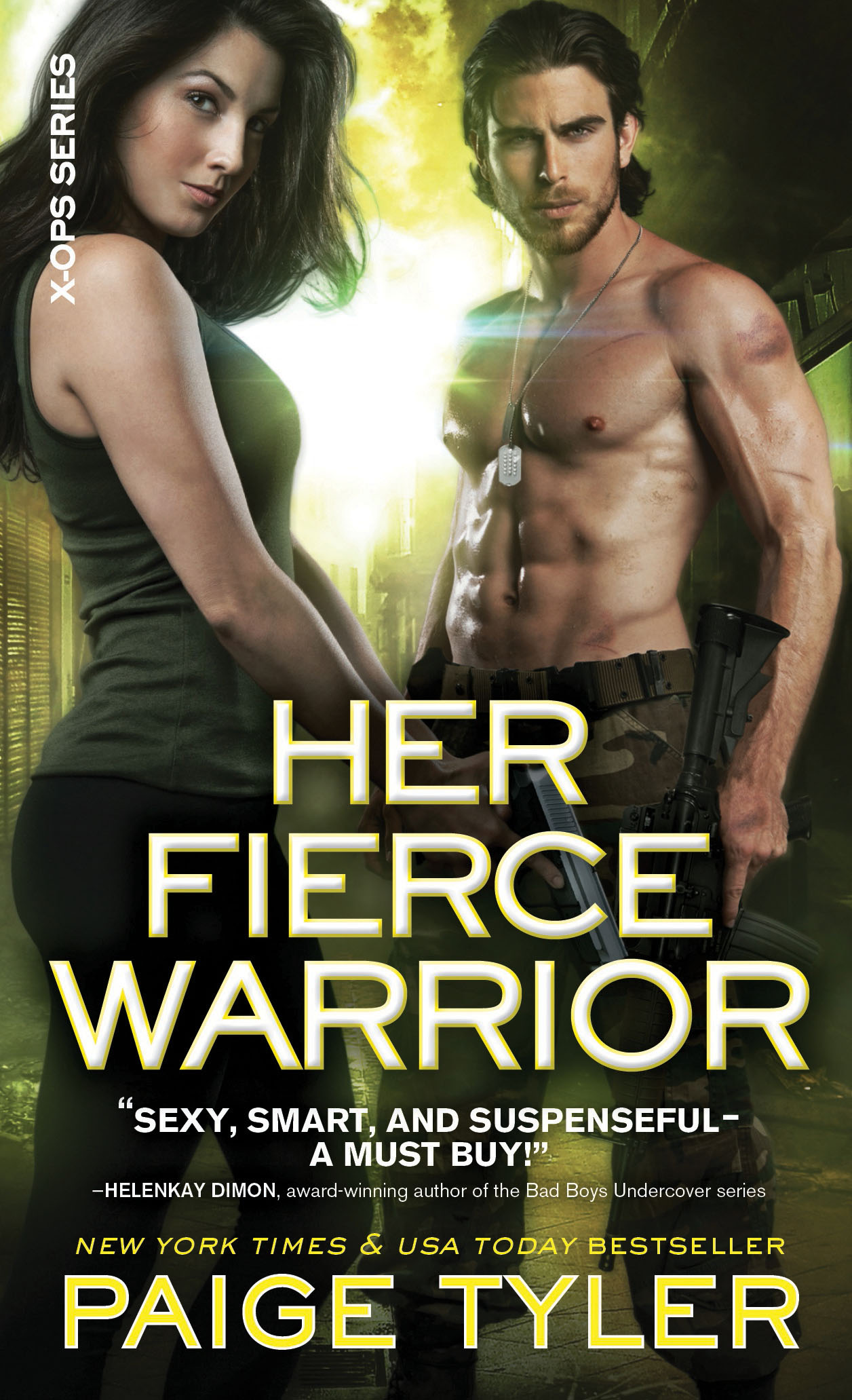 X-OPS 4 Her Fierce Warrior2
